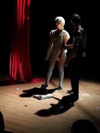 Eva Lunardi ed Andrea Caldato - -Impro'penDay - improvvisazioni performative artistiche - la fucina del circo