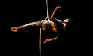 corso di corda aerea, roberto willcock, avanzato, dinamica, tessuto dinamico, la fucina del circo