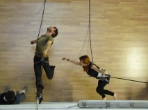 danza verticale Mattatoio Sospeso - La Fucina del Circo (37)