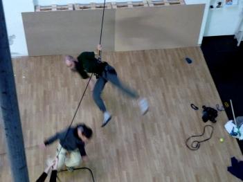 danza verticale Mattatoio Sospeso - La Fucina del Circo (49).