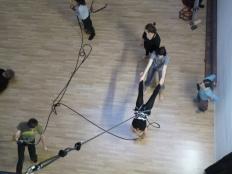 danza verticale Mattatoio Sospeso - La Fucina del Circo (55)
