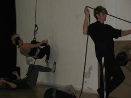 danza verticale stage mattatoio sospeso La Fucina del Circo (10)