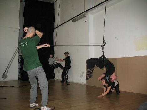 danza verticale stage mattatoio sospeso La Fucina del Circo (36)