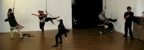 stage di danza verticale