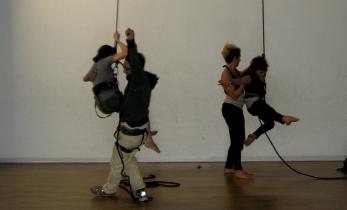 Stage..di danza verticale Mattatoio sospeso lafucinadelcirco