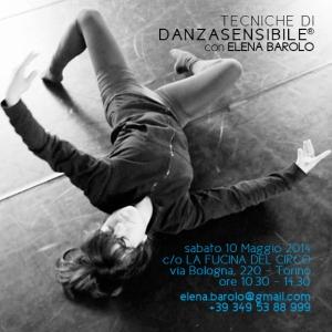 elena barolo danza sensibile workshop stage la fucina del circo
