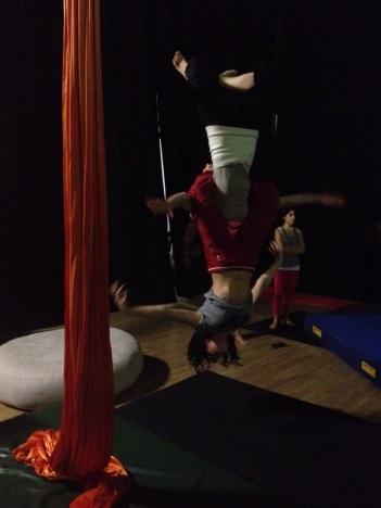 corso acrobatica aerea lafucinadelcirco torino