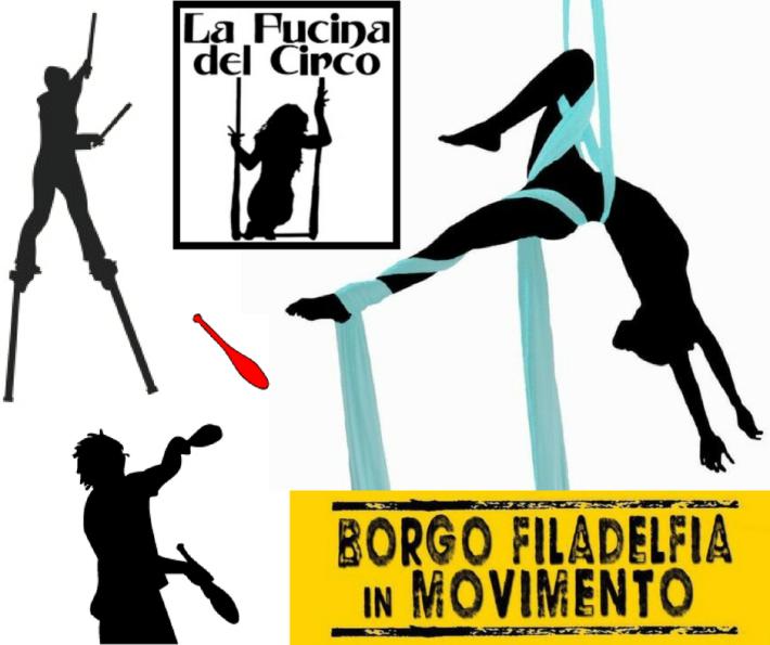 la fucina del circo eventi, festival, spettacoli, acrobati, trapezisti, torino, borgo filadelfia in movimento.png