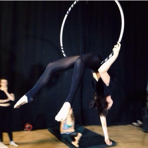stage di cerchio aereo con Lara D'amelia, lafucinadelcirco torino, corsi di circo