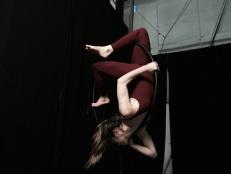 stage di cerchio aereo La fucina del circo, torino, con lara d'Amelia, discipline aeree