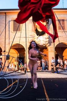 Foto Dario Bonazza - Spettacolo Il Viaggio di una Crinolina 2013.martina nova