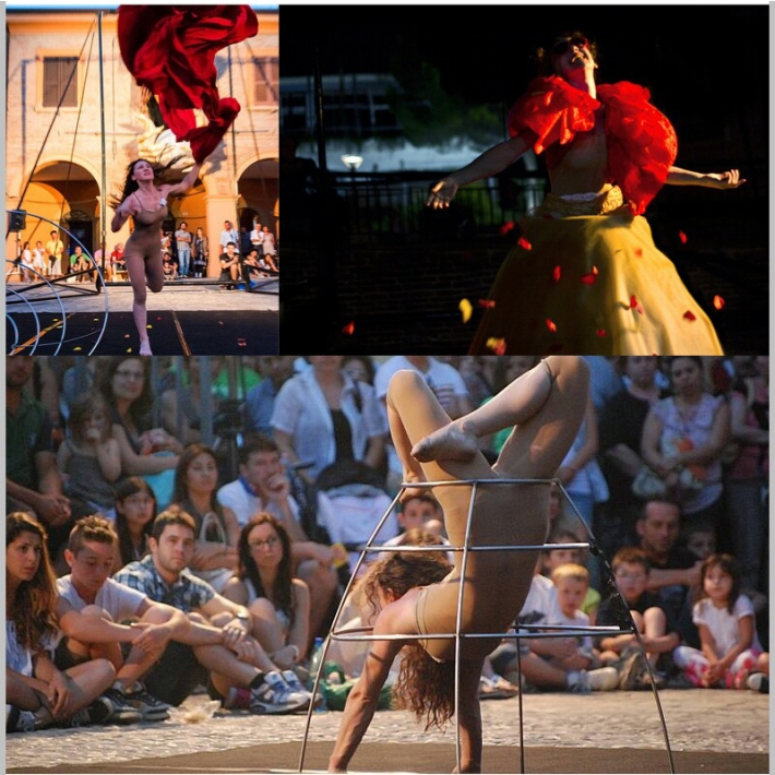 il viaggio di una crinolina,martina nova, lafucina del circo spettacoli e performance, teatro di strada, spettacolo teatro di strada