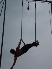 alessandro sicco, festa dello sport, torino, la fucina del circo, performance al trapezio (18)