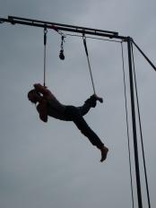alessandro sicco, festa dello sport, torino, la fucina del circo, performance al trapezio (20)