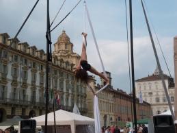 Beatrice Rosso, festa dello sport, la fucina del circo Torino tessuti aerei (5)