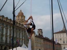 Beatrice Rosso, festa dello sport, la fucina del circo Torino tessuti aerei (6)