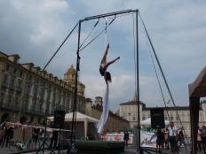 Beatrice Rosso, festa dello sport, la fucina del circo Torino tessuti aerei (7)