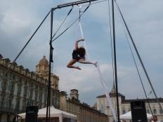Beatrice Rosso, festa dello sport, la fucina del circo Torino tessuti aerei (8)