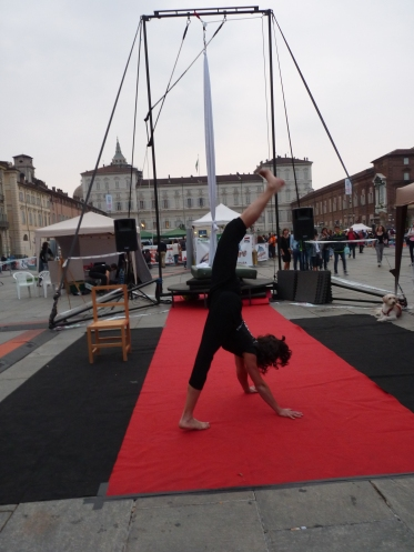 Fiammetta, danza acrobatica, festa dello sport torino uisp, la fucina del circo (7)