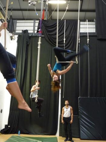 stage di trapezio, corsi, la fucina del circo, Anibal Virgilio, Torino, Spazio10,