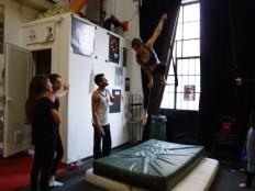 stage di trapezio, la fucina del circo,