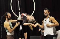 Stage Trapezio, La Fucina del Circo, Anibal Virgilio, Foto di Alessandro Sicco (2)