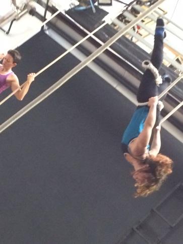 stage trapezio, La Fucina del Circo, Torino, scuola e corsi, Anibal Virgilio (1)