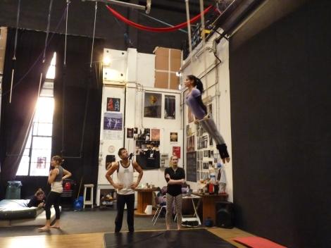trapezio stage, La Fucina del Circo, Anibal Virgilio (1)