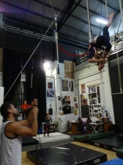 trapezio stage, La Fucina del Circo, Anibal Virgilio (11)