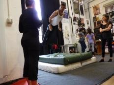 trapezio stage, La Fucina del Circo, Anibal Virgilio (2)
