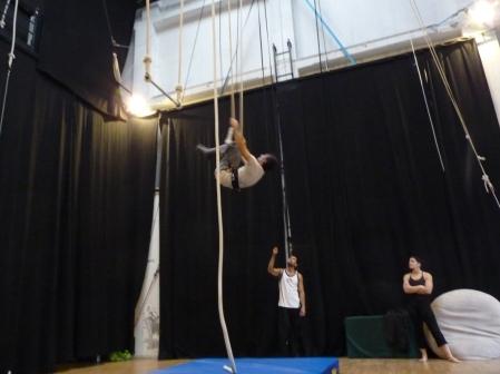 trapezio stage, La Fucina del Circo, Anibal Virgilio (4)