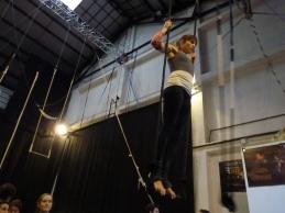 trapezio stage, La Fucina del Circo, Anibal Virgilio (6)