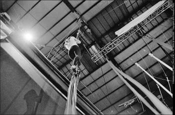 allenamento libero, prove, circo, la fucina torino,spazio per creazione