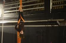 LA FUCINA DEL CIRCO, allenamento libero, corsi stage discipline aeree torino, trapezio e tessuto, cerchio, corda aerea