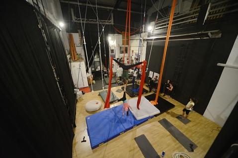 spazio di Allenamento aperto, libero circo torino, la fucina del circo