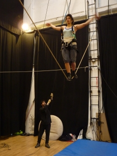 stage di corda molle, albert martinez, la fucina del circo, equilibrismo su corda (1)