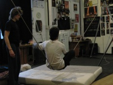 stage di corda molle, Albert Martinez, La Fucina del Circo, Torino, equilibrio su filo, workshop, (1)