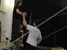 stage di corda molle, Albert Martinez, La Fucina del Circo, Torino, equilibrio su filo, workshop, (10)
