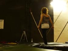 stage di corda molle, Albert Martinez, La Fucina del Circo, Torino, equilibrio su filo, workshop (10)