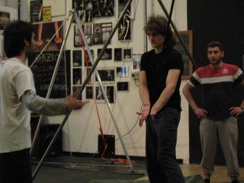 stage di corda molle, Albert Martinez, La Fucina del Circo, Torino, equilibrio su filo, workshop, (12)