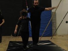 stage di corda molle, Albert Martinez, La Fucina del Circo, Torino, equilibrio su filo, workshop, (13)