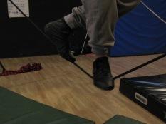 stage di corda molle, Albert Martinez, La Fucina del Circo, Torino, equilibrio su filo, workshop, (14)