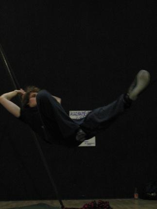 stage di corda molle, Albert Martinez, La Fucina del Circo, Torino, equilibrio su filo, workshop, (15)
