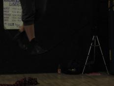stage di corda molle, Albert Martinez, La Fucina del Circo, Torino, equilibrio su filo, workshop, (19)