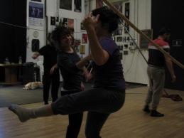 stage di corda molle, Albert Martinez, La Fucina del Circo, Torino, equilibrio su filo, workshop, (2)