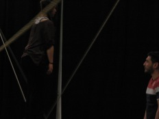 stage di corda molle, Albert Martinez, La Fucina del Circo, Torino, equilibrio su filo, workshop, (20)