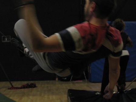 stage di corda molle, Albert Martinez, La Fucina del Circo, Torino, equilibrio su filo, workshop, (21)