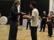 stage di corda molle, Albert Martinez, La Fucina del Circo, Torino, equilibrio su filo, workshop, (3)