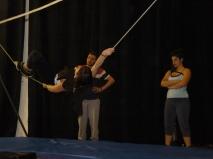 stage di corda molle, Albert Martinez, La Fucina del Circo, Torino, equilibrio su filo, workshop (6)