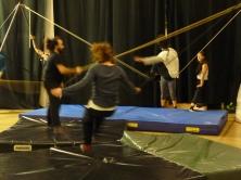 stage di corda molle, Albert Martinez, La Fucina del Circo, Torino, equilibrio su filo, workshop (7)